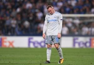 Everton's Wayne Rooney