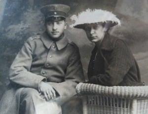 Barbara Hanley's grandparents