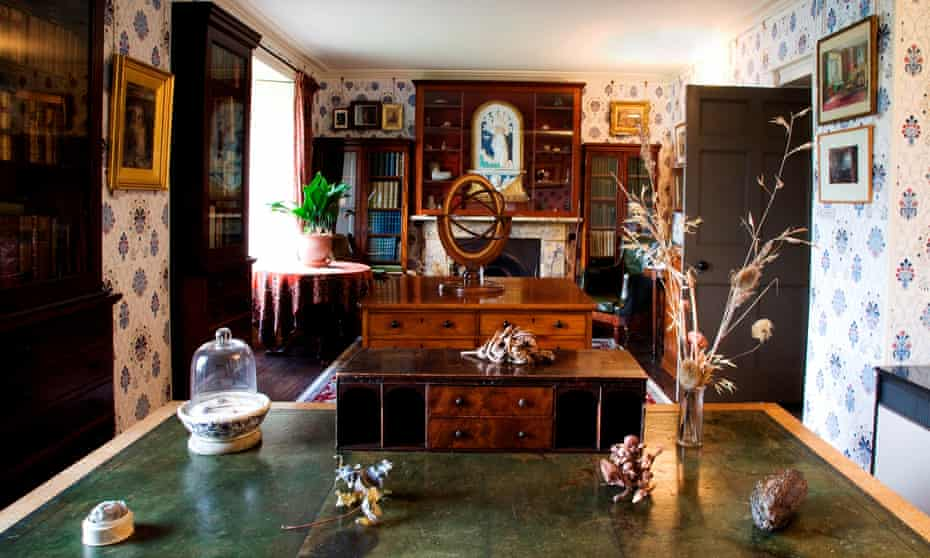 Ruskin's study at Brantwood museum, his former home