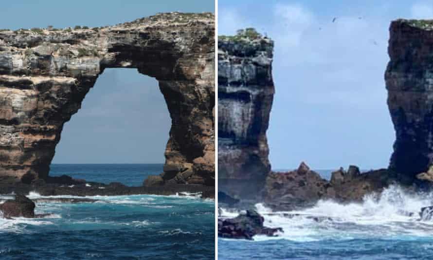 "Се урна ""Дарвиновата порта"" на Галапагос"