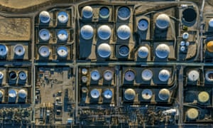Oil refineries in California. Rules around climate change, water pollution and vehicle fuel standards are all in the process of being redrawn by the EPA.