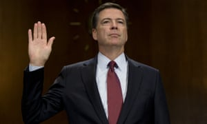 FBI director James Comey takes his place in the hall of shame.