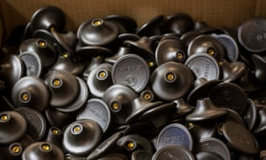 A box full of the famous handles