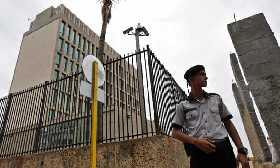 The US ordered the withdrawal of all its non-essential personnel at its embassy in Cuba in response to the mysterious attacks.