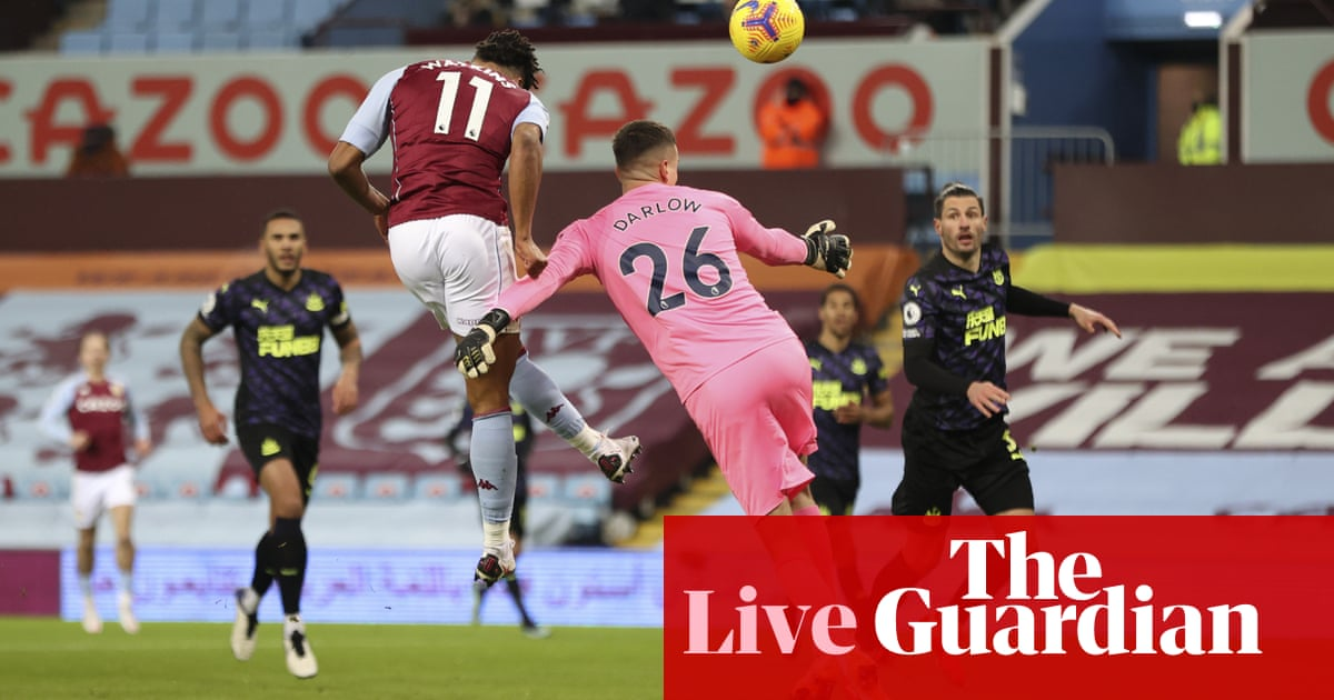 Aston Villa v Newcastle: Premier League – live! - the guardian