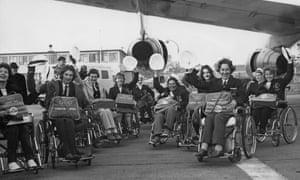 The British team set off in 1964.
