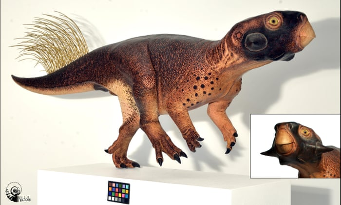 scientists reveal most accurate depiction of a dinosaur ever