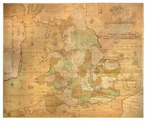Christopher Saxton has been dubbed 'the father of English cartography'. While the first English map of Britain came in 1250, Saxton's 1583 wall map is a result of the first survey of all England and Wales, and is the first map of those countries to give all place names in English. It is now believed to be in its seventh state, with the last corrections and additions added by Phillip Lea circa 1716.
