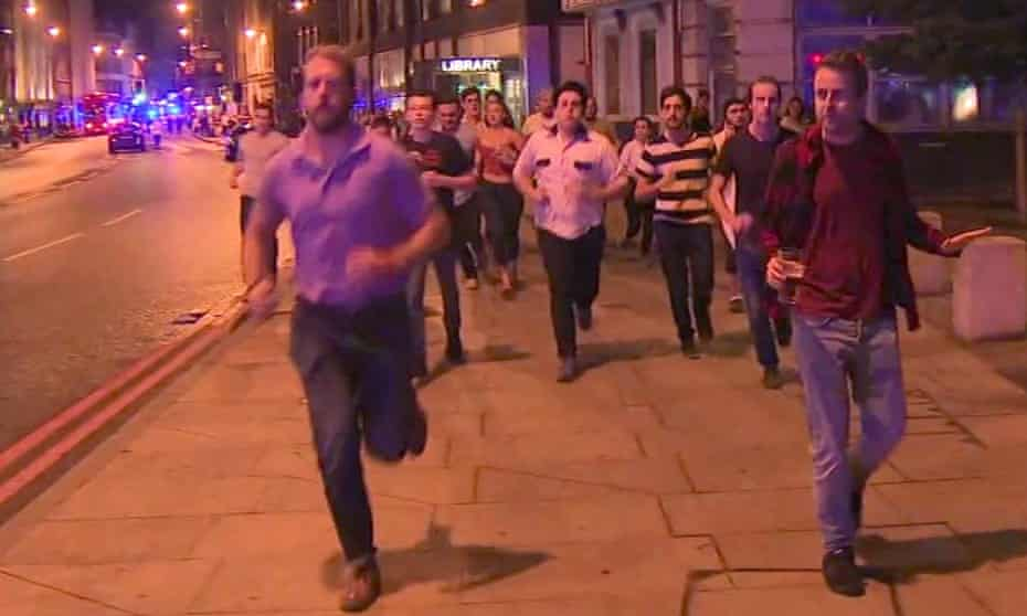 People in the UK have responded to the deadly London Bridge attack with sorrow and distinctly British humour.