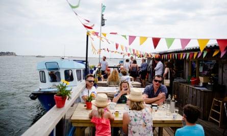 All aboard: River Exe Cafe, Devon.