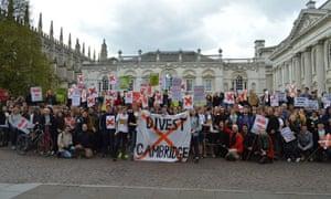 Cambridge University Zero Carbon Society calling for divestment