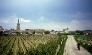 Wine country: an idyllic rural scene in Bordeaux.