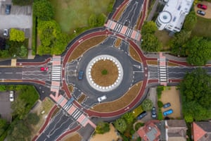Cambridge, England: The UK's first Dutch-style roundabout
