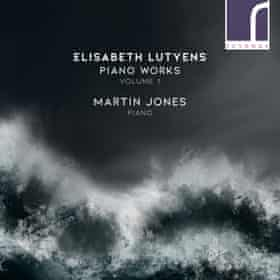 The cover of Elisabeth Lutyens: Piano Works Volume 1