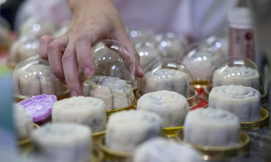 Snowskin mooncakes are made from cooked glutinous rice flour and filled with anything from custard and chocolate to durian and mango.