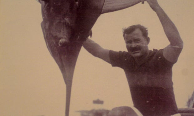 Hemingway's Old Man And The Sea Fishing Trip Letter Sold For $28,000 by Alison Flood for The Guardian