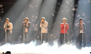One Direction … On The X Factor in 2010.