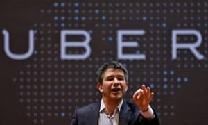 Uber's CEO, Travis Kalanick. Former employees have described a hyper-competitive workplace that is hostile to those who don't play along.