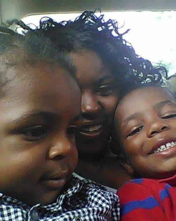 Jeannetta Maclin and kids