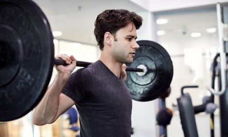 Strength conditioning: Alexander Campbell in the Royal Ballet's healthcare suite.