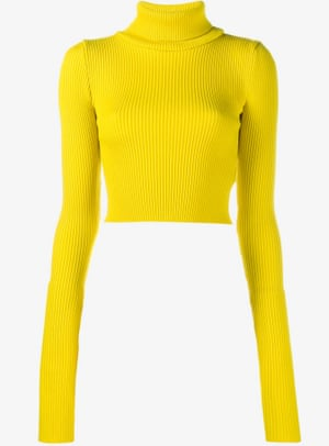 Yellow, £275, by Jacquemus from brownsfashion.com