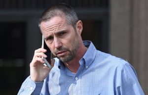 Adrian Webb outside Liverpool Magistrates Court.