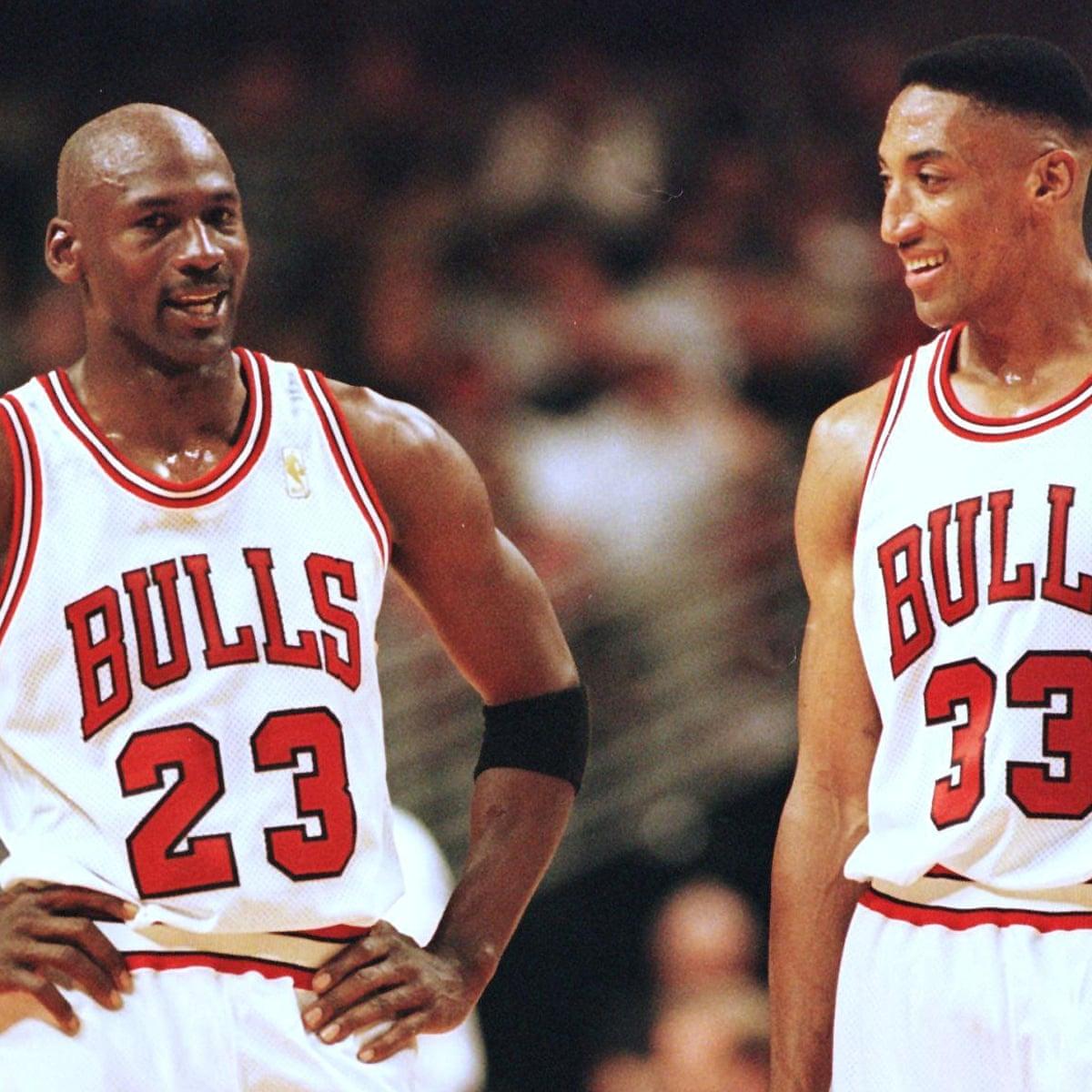 Scottie Pippen Denies The Last Dance Caused A Rift With Michael Jordan Michael Jordan The Guardian