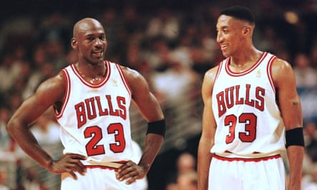 Michael Jordan and Scottie Pippen combined to make the Bulls a dominant force in the NBA