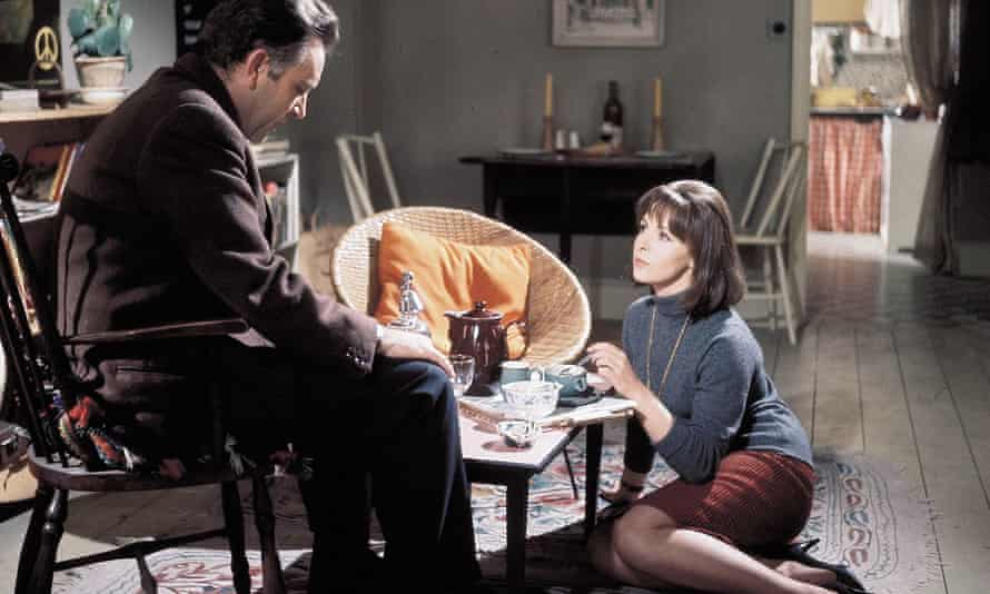 Richard Burton and Claire Bloom in the 1965 film of The Spy Who Came in from the Cold.