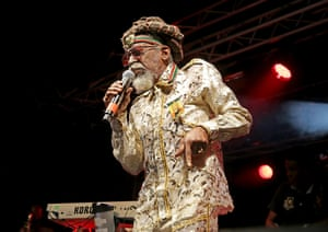 Bunny Wailer performing at Liverpool O2 Academy in 2015