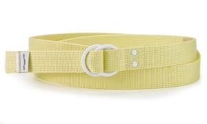Webbing belt, £30, by Levi's.