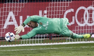Zack Steffen moved from MLS to Manchester City last month.