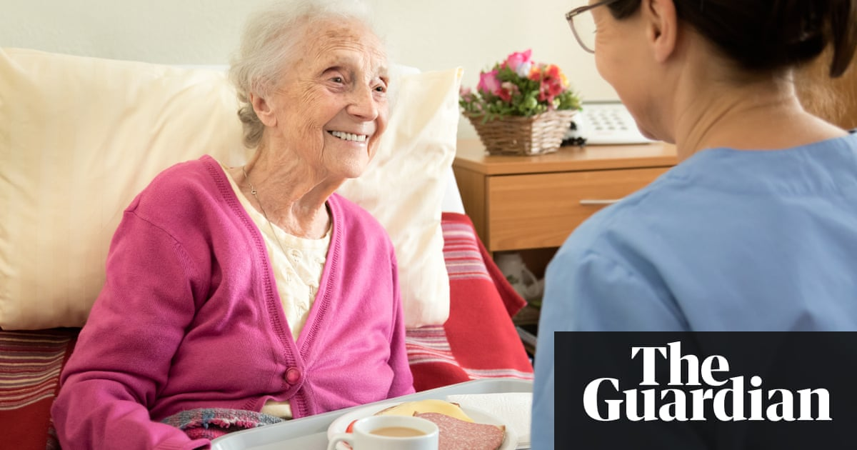 New Dutch homecare model insists nurses spend more than half of their time  in direct contact with the people they support. Photograph: Fred  Froese/Getty