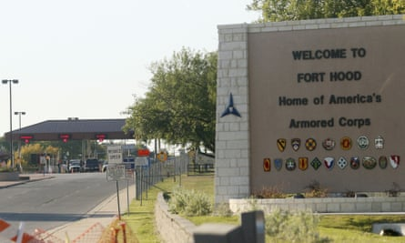The Fort Hood army base near Killeen, Texas. There have been several unsolved deaths or disappearances at the base.