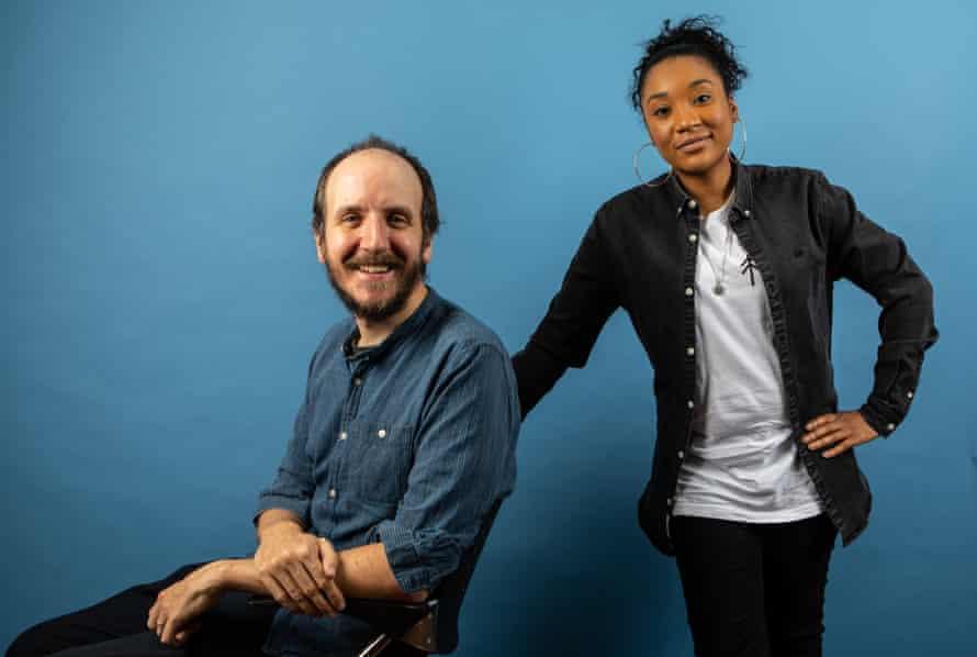 'When I pitched my idea to Jack, he really made me feel at ease': Sharma Walfall with her mentor, Jack Thorne