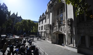 The supreme court, which is currently hearing an appeal that will determine whether Boris Johnson's suspension of parliament was lawful.