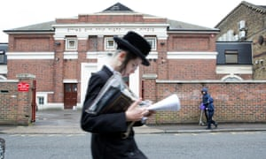 Beis Malka school in North London, one of two Ultra-Orthodox Jewish sect schools to advise mothers to stop driving