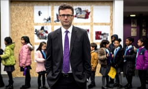 Peter Hyman, the headteacher and co-founder of School 21, a free school which encompasses a primary and a secondary school in Stratford, east London.