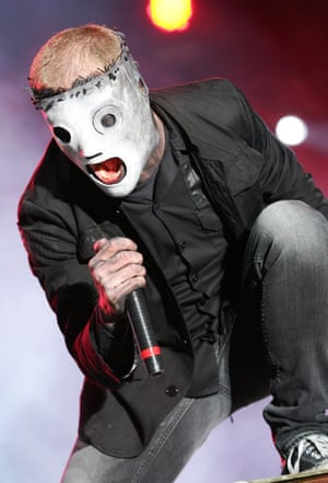 Corey Taylor of Slipknot performs during the 2009 Rock On The Range festival at Columbus Crew Stadium