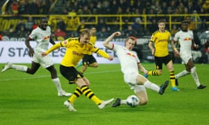 Julian Brandt's strike was the pick of the goals in a pulsating 3-3 draw.