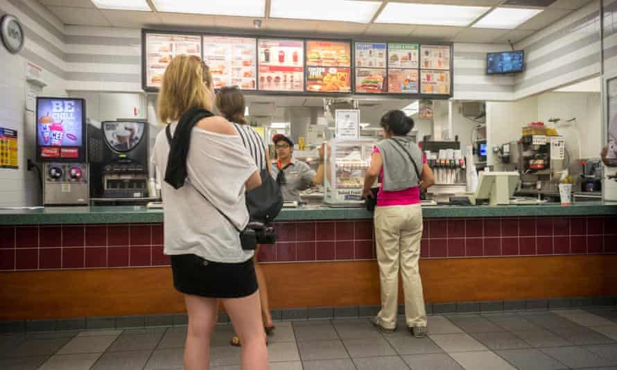 Food service and healthcare showed big monthly gains, but wages are rising only marginally.