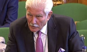 Keith Hellawell appearing before the Scottish Affairs Committee 2015