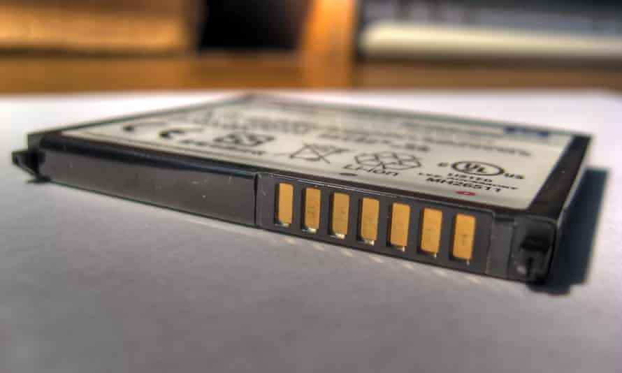 A rechargeable lithium-ion battery