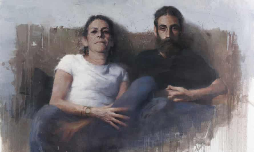 'My Mother and My Brother on a Sunday Evening' by Borja Buces Renard who won the third place prize.