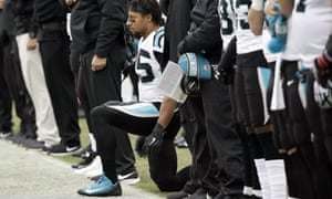 Eric Reid was the first player to kneel alongside Colin Kaepernick