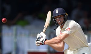 England's Jos Buttler during the third day of the third Test