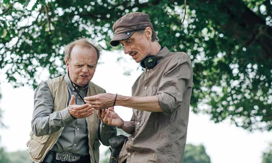 Toby Jones, left, and Mackenzie Crook in Detectorists.