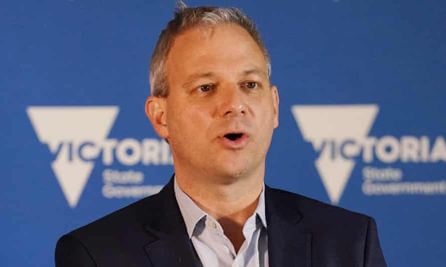 Victoria's Chief Health Officer Dr Brett Sutton at a press conference