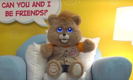 Teddy Ruxpin animatronic toy relaunches in 2017.