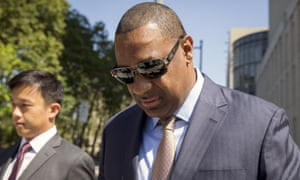 Concacaf president Jeffrey Webb admitted taking bribes for TV deals. Photograph: Brendan McDermid/Reuters